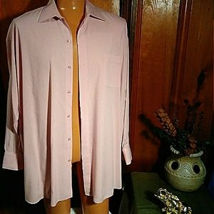 Other - Men Light Purple Shirt with Slits for Cuff Links